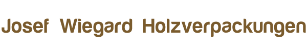 Josef Wiegard Holzverarbeitung e.K. Logo